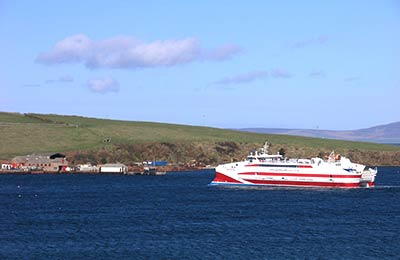 Gills Bay Ferry Port